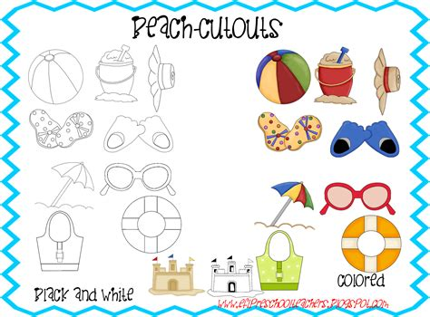 english themes for preschool esl efl preschool teachers beach theme