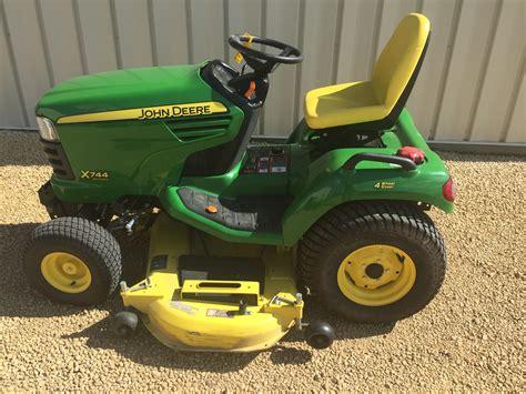 garden tractors for deere x744 lawn garden tractors for sale 59731