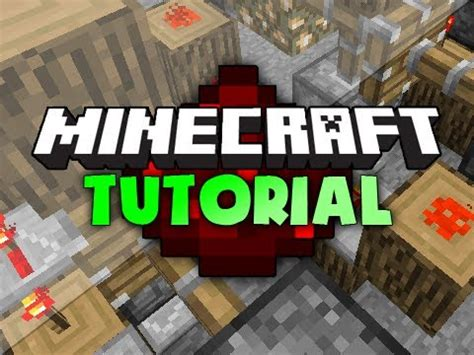 youtube tutorial minecraft minecraft tutorial drawbridge w pistons youtube