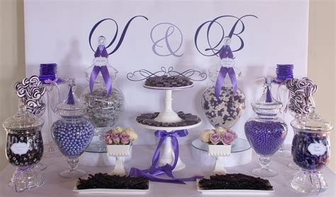 wedding party ideas candy display and apothecaries