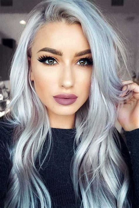 hair silver 24 stunning silver hair to rock hair silver