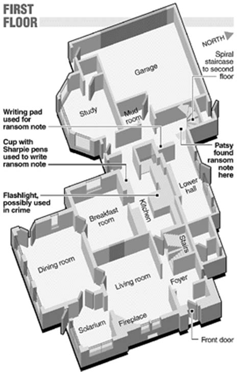 jonbenet ramsey house floor plan jonbenet ramsey the denver post online