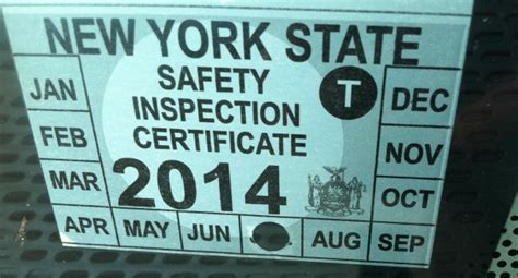 new car inspection sticker could new york do away with vehicle inspection stickers