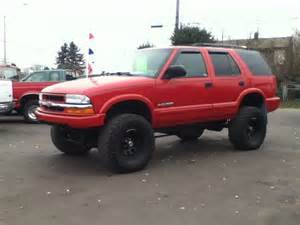 Lifted Trailblazer Tires Chevy S10 Lift Kit Car Interior Design