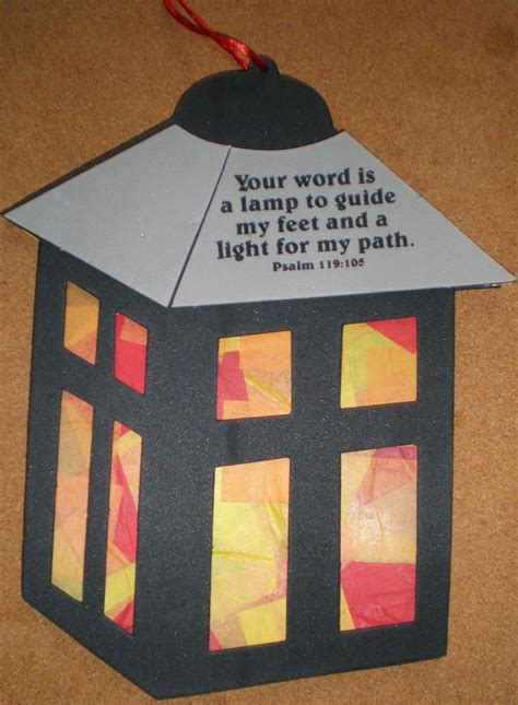 bible craft projects crafts for psalm 119 105 search sunday school