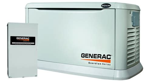 be prepared for power outages with a backup generator