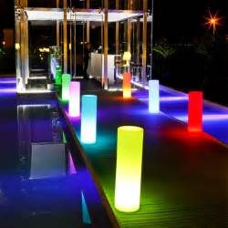 led lights outdoor tower outdoor portable led l smart green modern