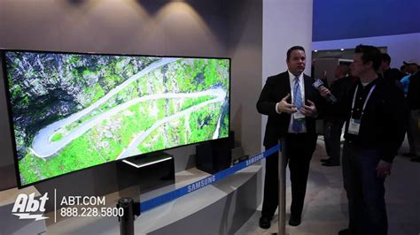 samsung 82 inch tv samsung 82 quot 21 9 curved suhdtv ces 2015