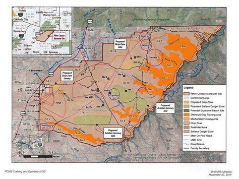 fort carson training area map fort carson range map related keywords fort carson range