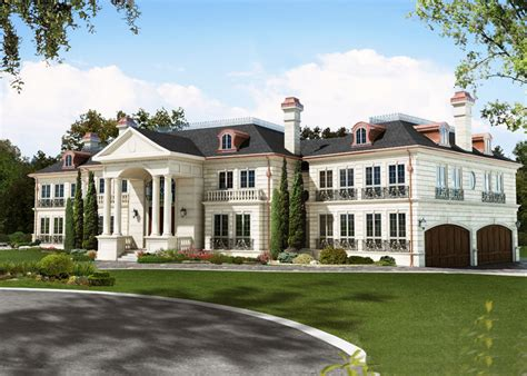 Newly Built Grand Mississauga Mansion Homes Of The Rich Luxury Homes Mississauga