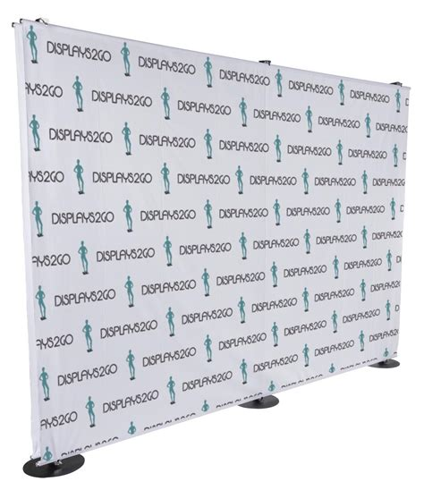 custom step and repeat backdrop double sided