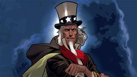 Uncle Sam And The Freedom Fighters Wallpaper HD Download