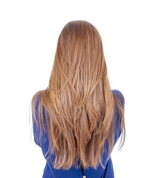 Stufenschnitt Lange Haare by Glatte Haare Stufenschnitt