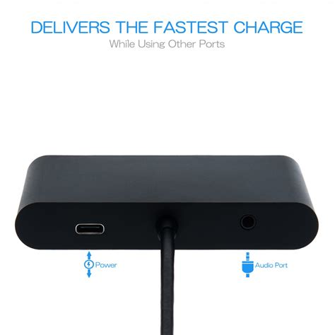 type c hub for alienware 15 vga ethernet usb 3 0 adapter otg charger keple