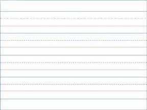Print kindergarten writing paper handwriting paper template to use