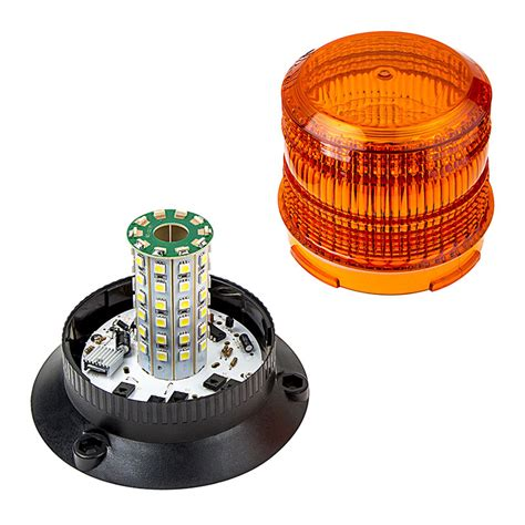 led strobe lights 4 3 4 quot led strobe light beacon with 60 leds