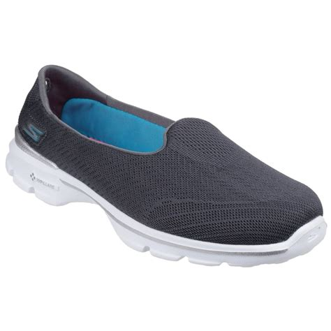 go walk slippers skechers go walk 3 insight s charcoal shoes free