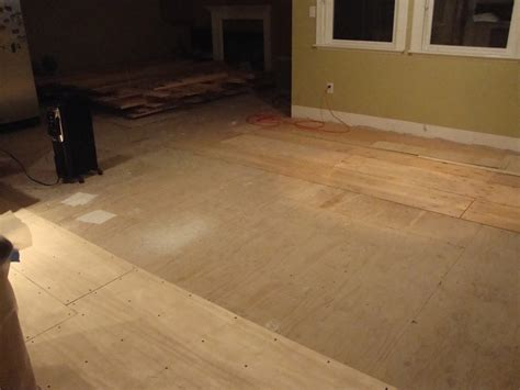 leveling wood subfloor for hardwood 28 images
