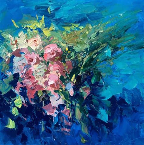 fiori astratti pittura oltre 25 fantastiche idee su fiori astratti su