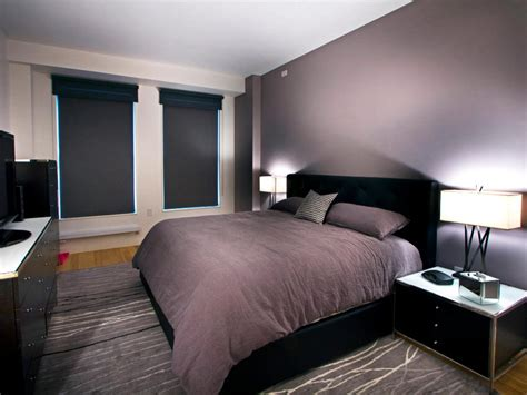 aubergine and grey bedroom photos hgtv
