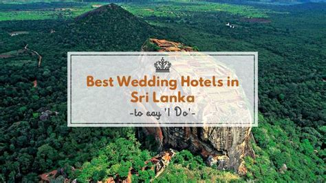 Our pick of 5 Wedding hotels in Sri Lanka