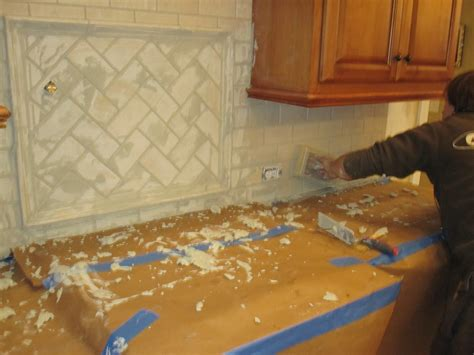 how to tile a kitchen backsplash cheeky cognoscenti completed backsplash tile utility