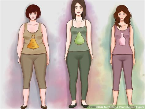 Items To Flatter A Pear Shape how to flatter a pear shaped figure 7 steps with pictures