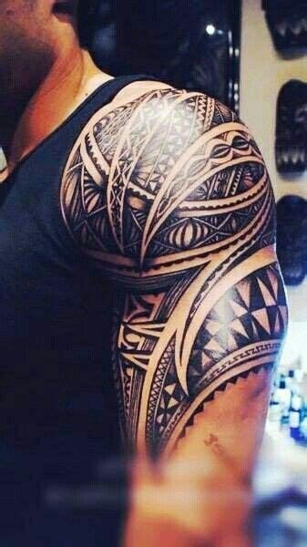 tribal quarter sleeve tattoo half sleeve tribal tattoos tribal tattoos and half