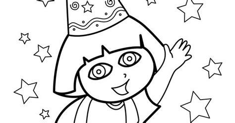 happy birthday dora coloring pages dora quot happy birthday quot coloring pages for kids