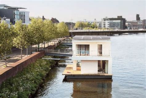houseboat melbourne the autark home floating houseboat concrete playground