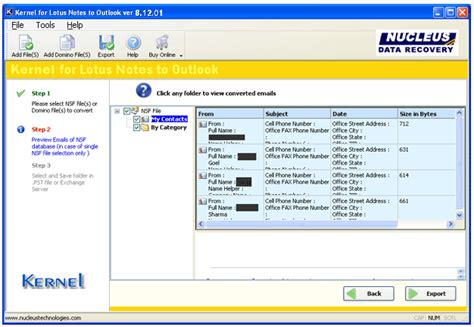 lotus notes journal lotus notes conversion nsf to pst conversion software