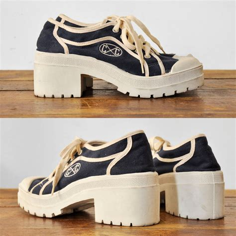 platform tennis shoes amazing 90 s cross colours platform tennis shoes 7 5