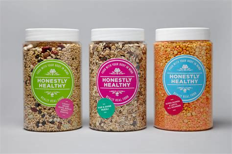 healthy food brands honestly healthy the dieline packaging branding design innovation news