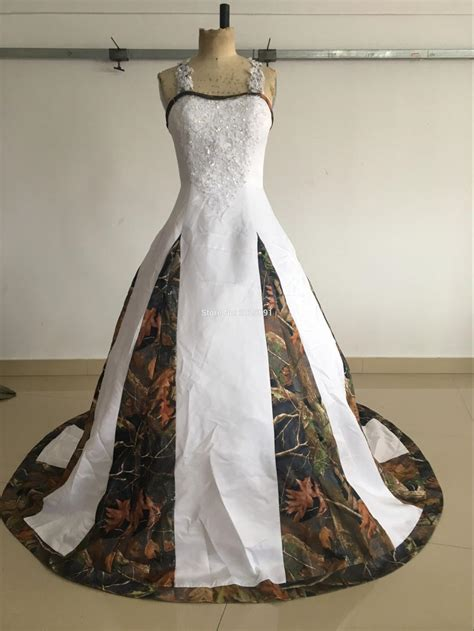 Where To Get Wedding Dresses by Get Cheap Camouflage Wedding Dress Aliexpress
