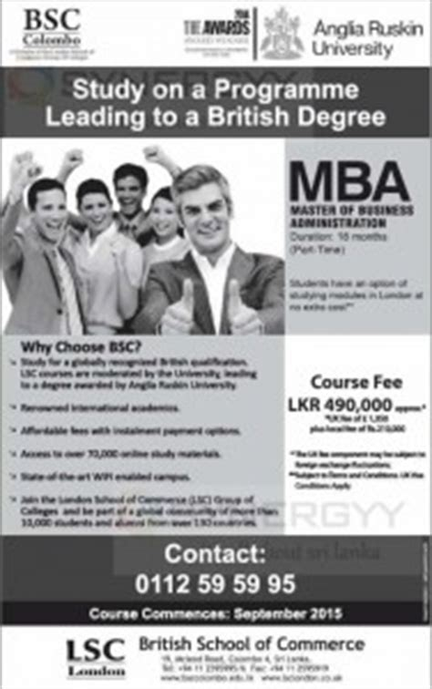 Anglia Ruskin Mba Fees by Anglia Ruskin Mba By School Of Commerce