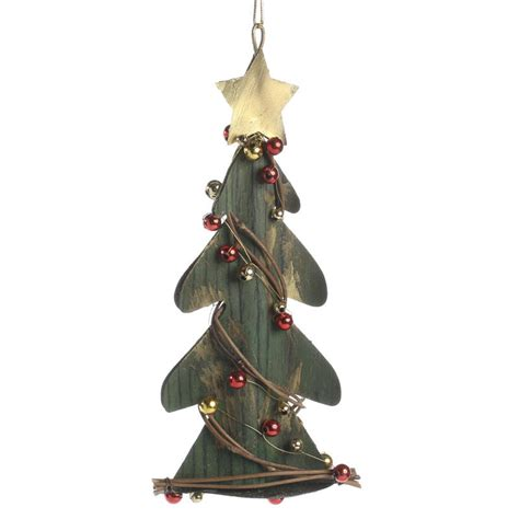 rustic christmas tree ornament home decor