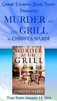unbridled murder a carson stables mystery books murder at the grill by christa nardi escape with
