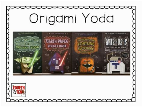 Origami Yoda Reading Level - pin by jacqueline macejewski on books for the classroom