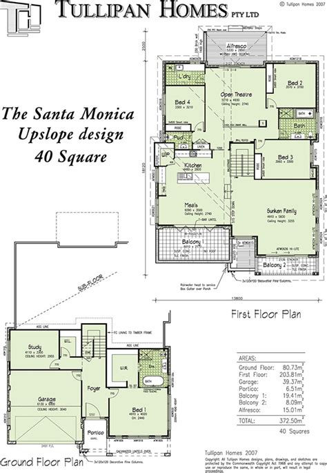up slope house plans up slope house plans santa upslope design home design tullipan homes