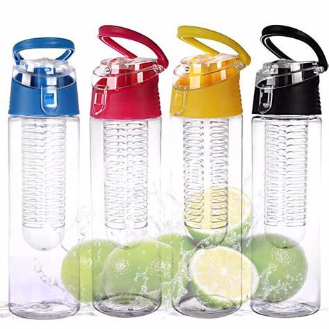Botol Tritan Infused Water Kesehatan Infuser Citrus Sports Bottle Buah kopen wholesale fruit water bottle infuser uit