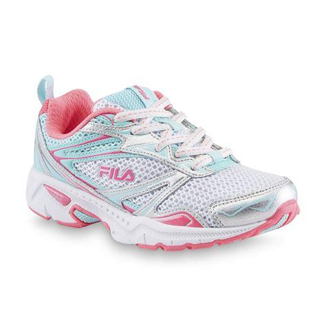 fila s royalty white pink mint running shoe