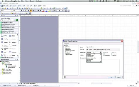visio uml class diagram exle creating uml class diagrams with visio part 2 adding