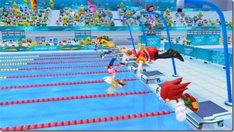 I Gear Original Water Resist 100m how sonic can swim in the mario and sonic olympic
