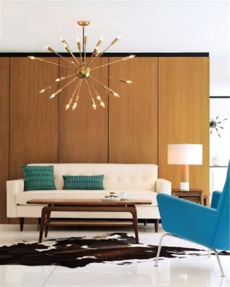 how to decorate a mid century modern home mid century modern style light fixtures