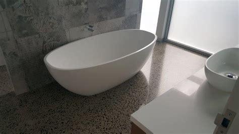 polished concrete floor bathroom concrete polished bathrooms eco grind melbourne concrete