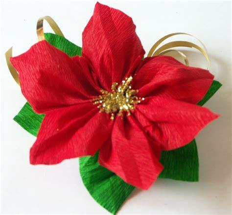 fiori natalizi di carta tatamusetta tutorial decorazione con stella di natale in