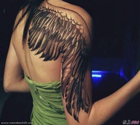 后背纹身天使翅膀图片 天使翅膀纹身图案大全 后背纹身女天使的图片 翅膀满背纹身图片大全 天使翅膀纹身图片女小
