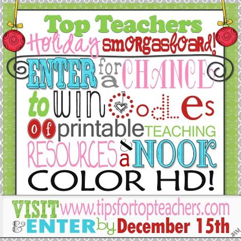 Giveaways For Teachers - holiday teaching resource giveaway lessons from the middle