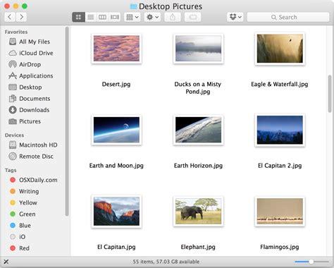Folder Pictures Mac
