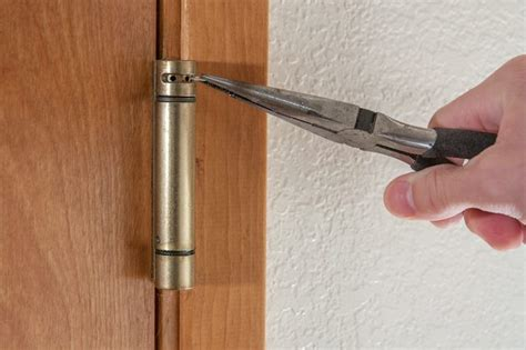 how to adjust door hinges incredible how to adjust a spring loaded door hinge hunker